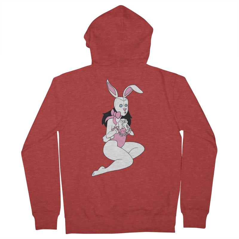 Stockroom Bunny Men's Zip-Up Hoody by stevedietgoedde's Artist Shop