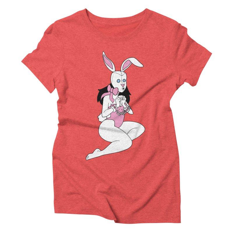 Stockroom Bunny Women's Triblend T-Shirt by stevedietgoedde's Artist Shop