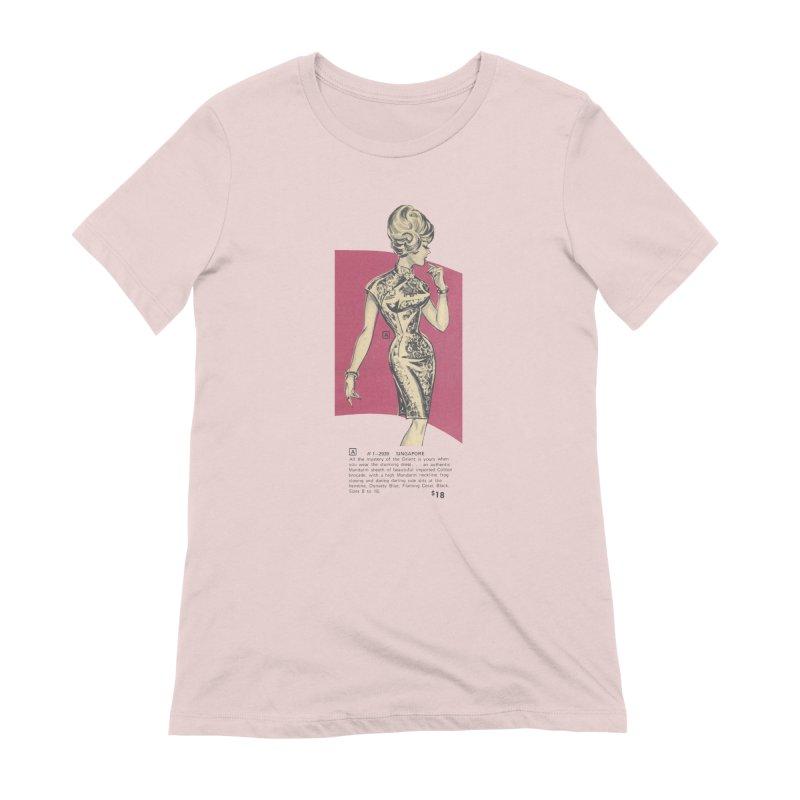 Singapore Women's Extra Soft T-Shirt by Steve Diet Goedde's Artist Shop