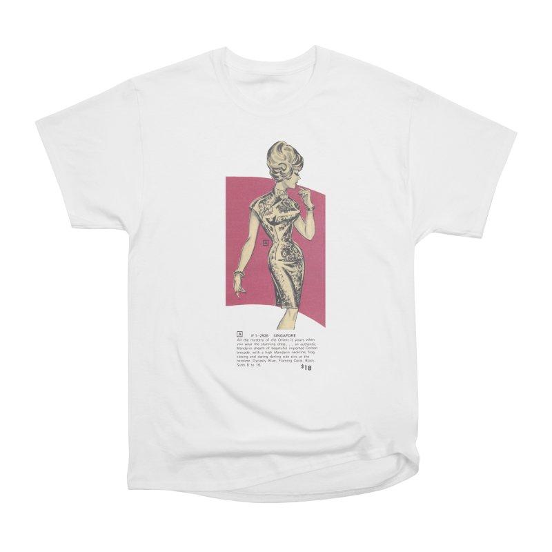 Singapore Women's Heavyweight Unisex T-Shirt by Steve Diet Goedde's Artist Shop