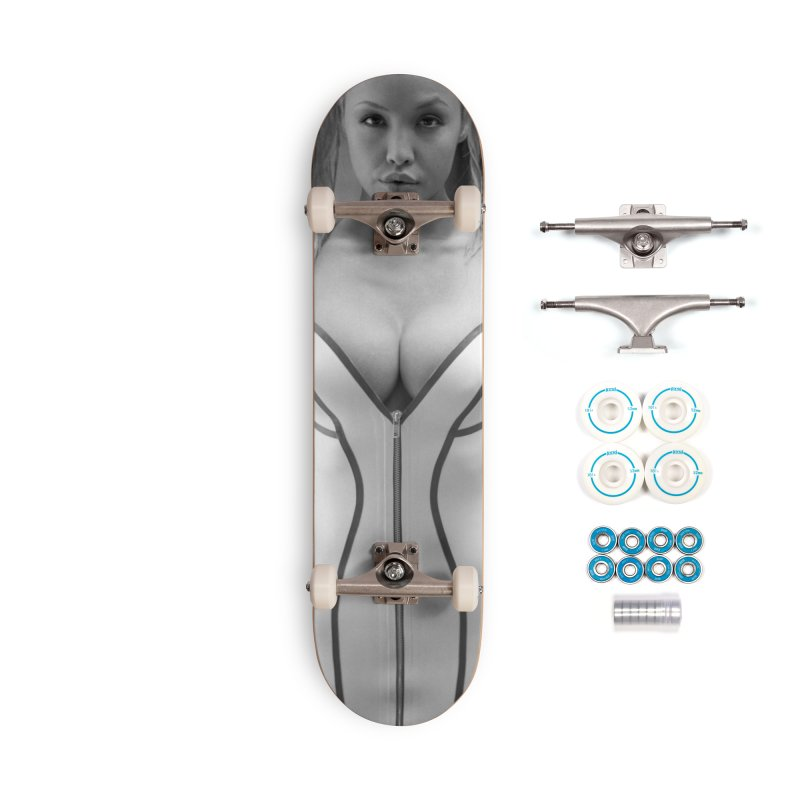 Masuimi Skateboard Accessories Complete - Basic Skateboard by Steve Diet Goedde's Artist Shop
