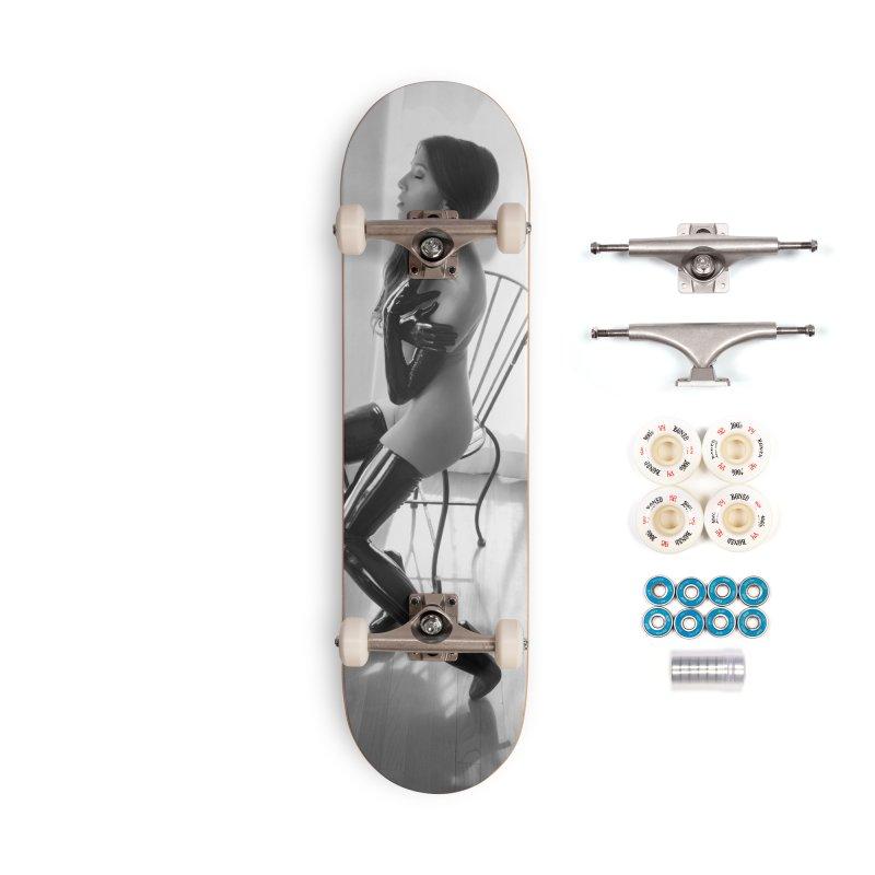Idiivil Skateboard Accessories Complete - Premium Skateboard by Steve Diet Goedde's Artist Shop