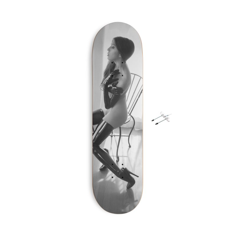 Idiivil Skateboard Accessories With Hanging Hardware Skateboard by Steve Diet Goedde's Artist Shop