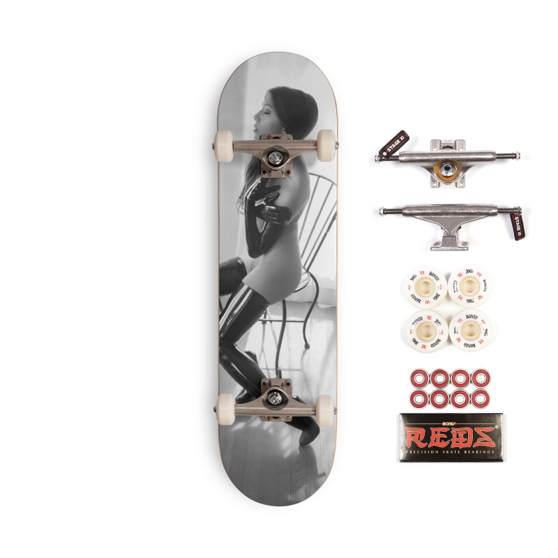 Idiivil Skateboard Accessories Complete - Pro Skateboard by Steve Diet Goedde's Artist Shop