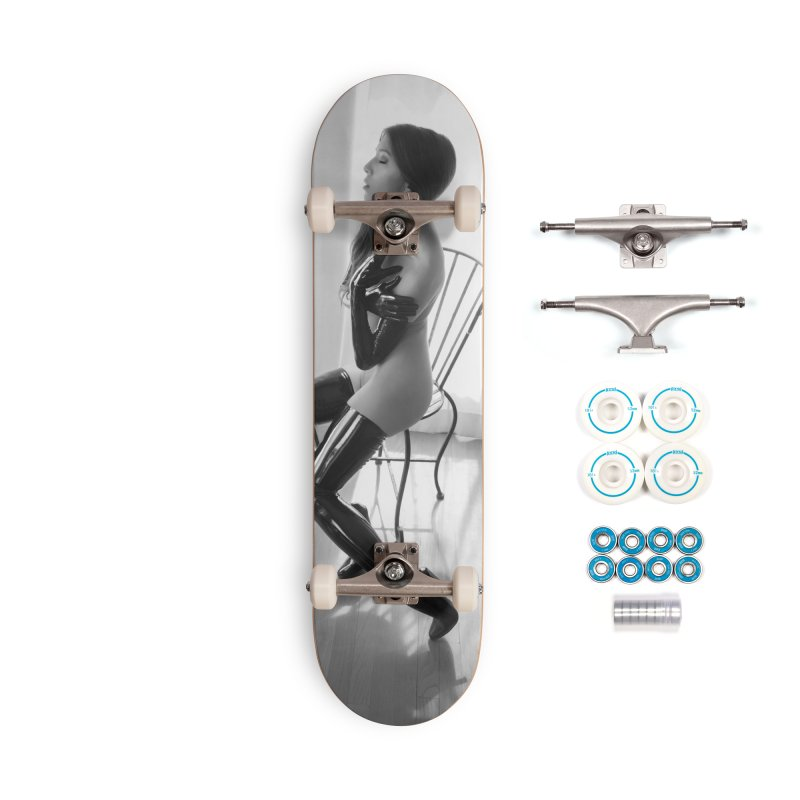 Idiivil Skateboard Accessories Complete - Basic Skateboard by Steve Diet Goedde's Artist Shop