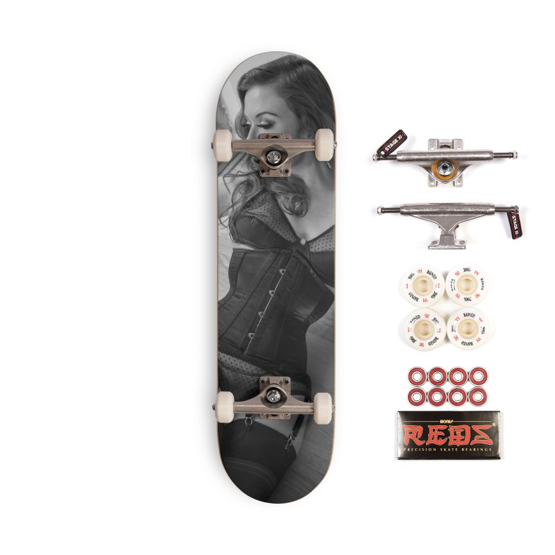 Jessmyne Rose Skateboard Accessories Complete - Pro Skateboard by Steve Diet Goedde's Artist Shop