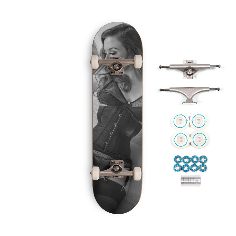 Jessmyne Rose Skateboard Accessories Complete - Basic Skateboard by Steve Diet Goedde's Artist Shop