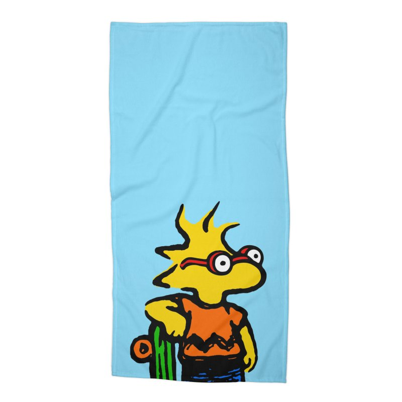 Milstock Accessories Beach Towel by Steve Dressler Illustration & Design