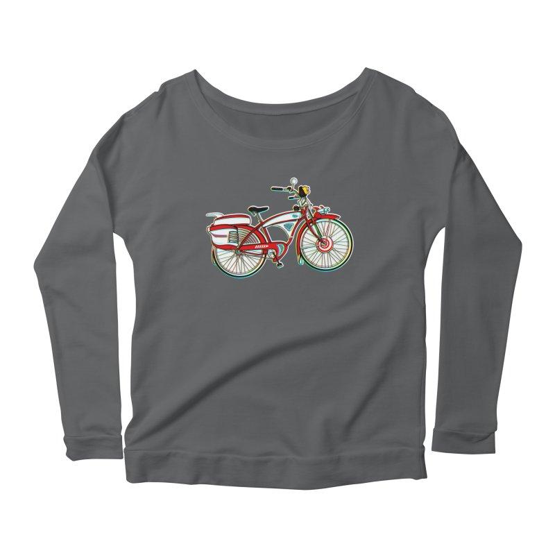 Stolen Bicycle Women's Longsleeve T-Shirt by Steve Dressler Illustration & Design