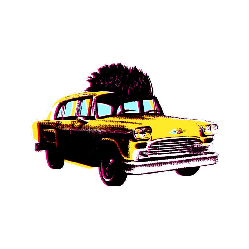 Cab Driver Men's T-Shirt by Steve Dressler Illustration & Design