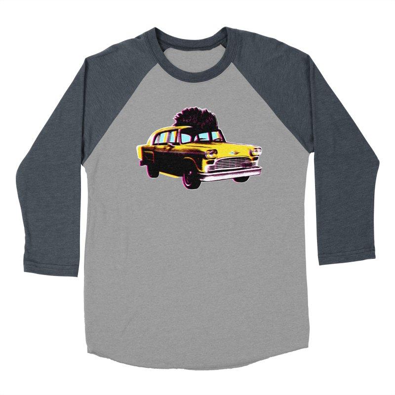 Cab Driver Women's Baseball Triblend Longsleeve T-Shirt by Steve Dressler Illustration & Design