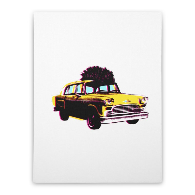 Cab Driver Home Stretched Canvas by Steve Dressler Illustration & Design