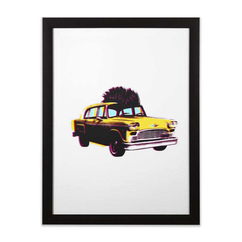 Cab Driver Home Framed Fine Art Print by Steve Dressler Illustration & Design