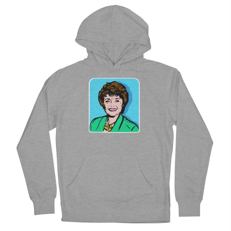 Wu Maclanahan Women's French Terry Pullover Hoody by Steve Dressler Illustration & Design