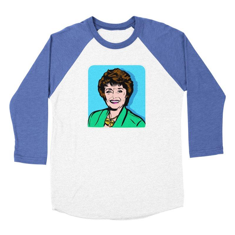 Wu Maclanahan Women's Baseball Triblend Longsleeve T-Shirt by Steve Dressler Illustration & Design