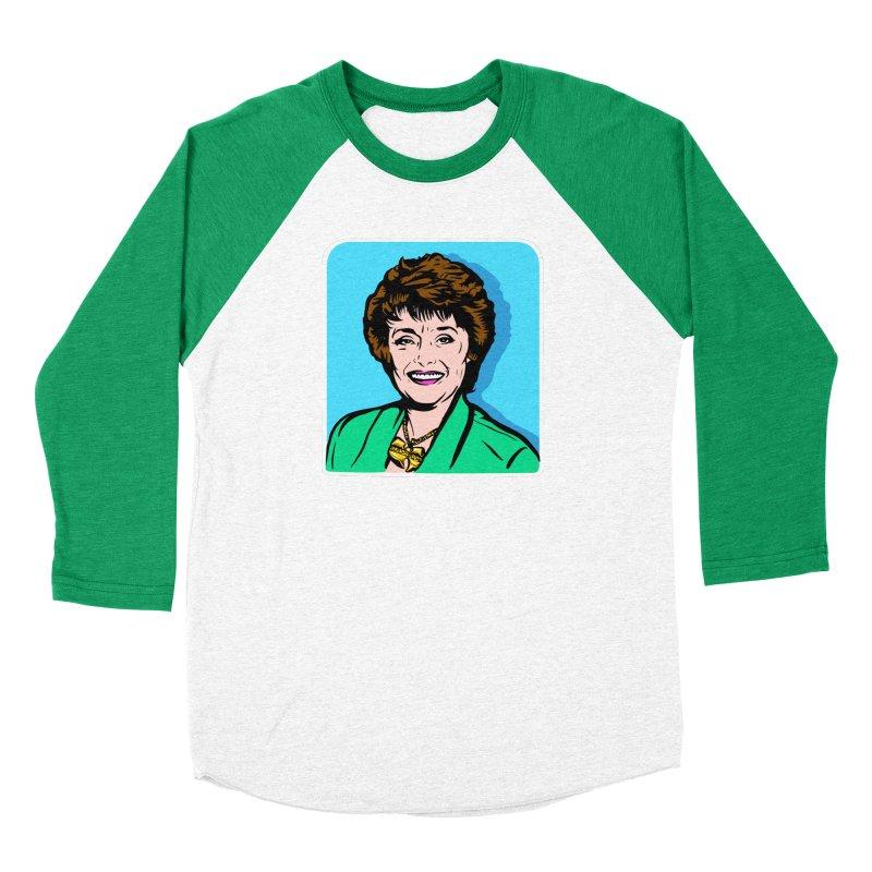 Wu Maclanahan Men's Baseball Triblend Longsleeve T-Shirt by Steve Dressler Illustration & Design