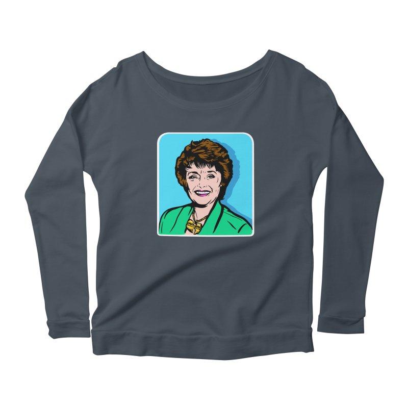 Wu Maclanahan Women's Scoop Neck Longsleeve T-Shirt by Steve Dressler Illustration & Design