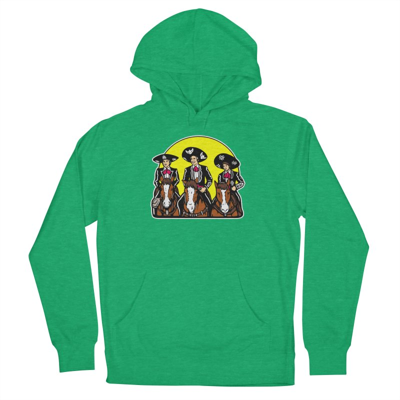 The Three Friends Women's French Terry Pullover Hoody by Steve Dressler Illustration & Design