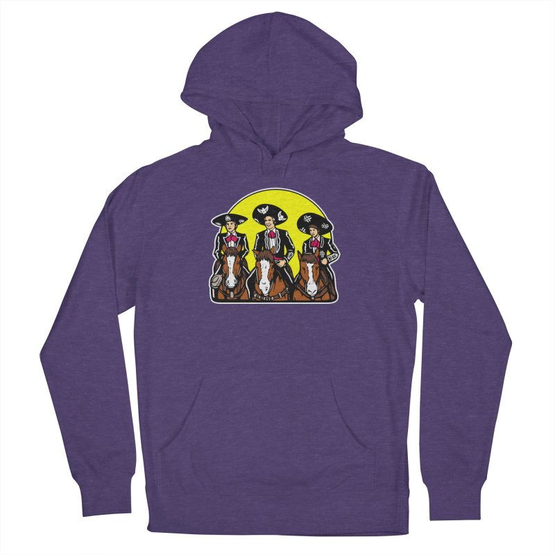 The Three Friends Men's French Terry Pullover Hoody by Steve Dressler Illustration & Design