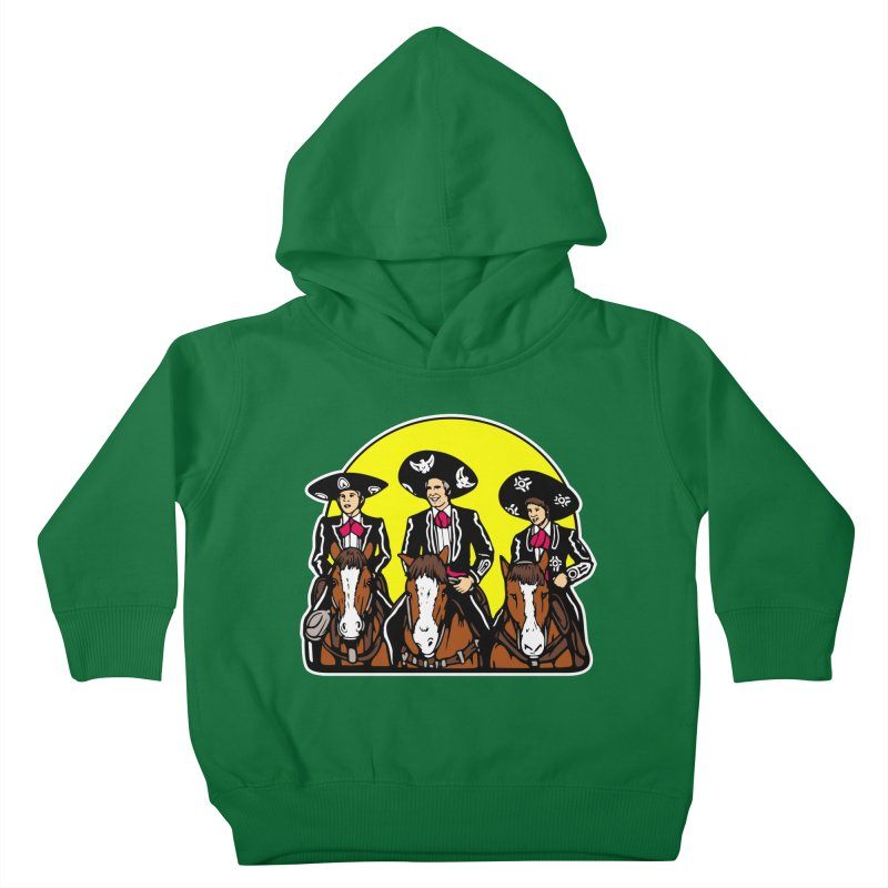 The Three Friends Kids Toddler Pullover Hoody by Steve Dressler Illustration & Design