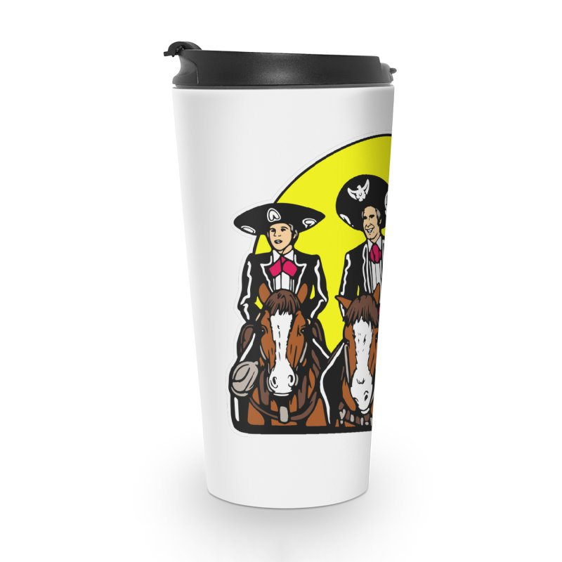 The Three Friends Accessories Travel Mug by Steve Dressler Illustration & Design