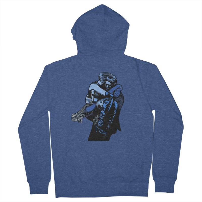 Personal Security Women's French Terry Zip-Up Hoody by Steve Dressler Illustration & Design