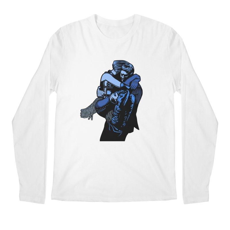 Personal Security Men's Regular Longsleeve T-Shirt by Steve Dressler Illustration & Design