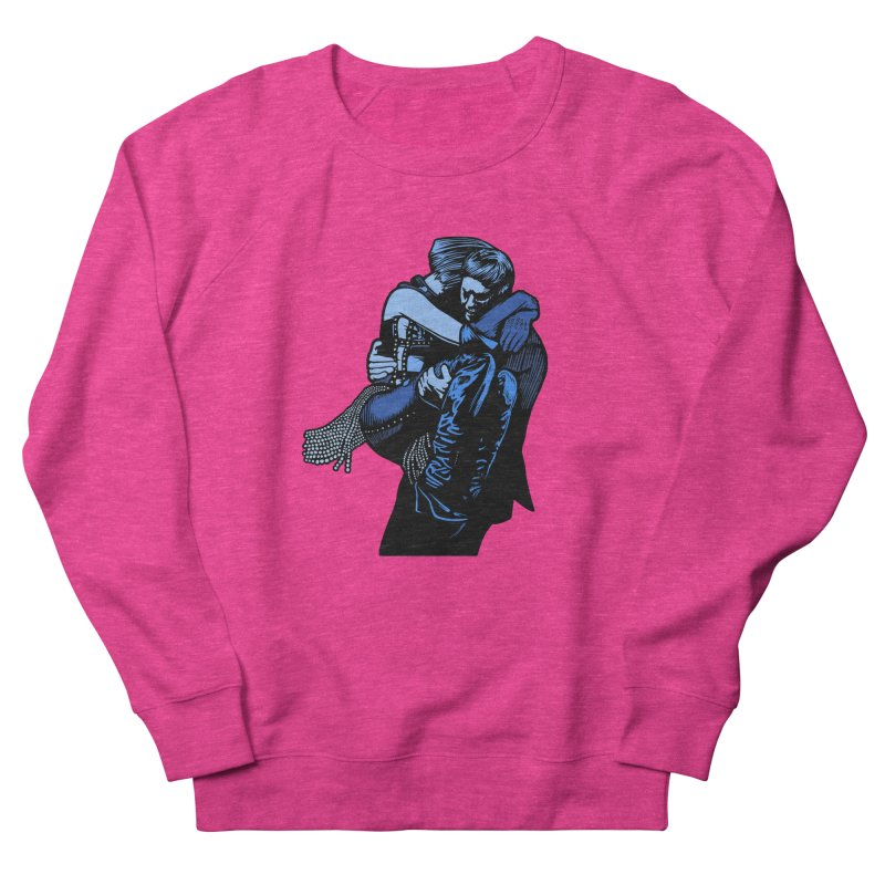 Personal Security Men's French Terry Sweatshirt by Steve Dressler Illustration & Design
