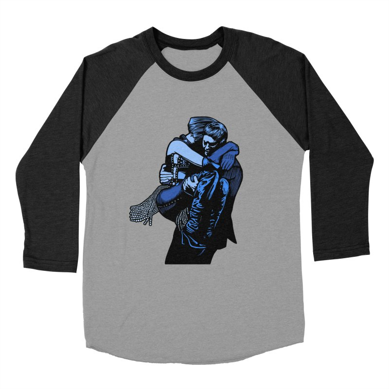 Personal Security Men's Baseball Triblend Longsleeve T-Shirt by Steve Dressler Illustration & Design