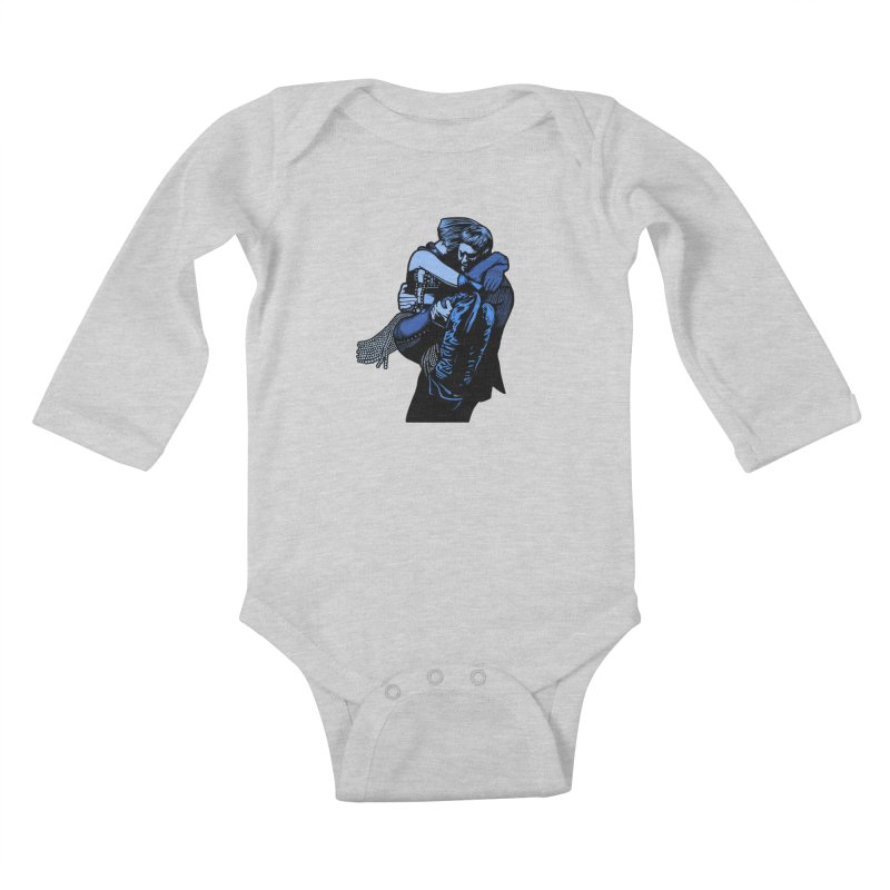 Personal Security Kids Baby Longsleeve Bodysuit by Steve Dressler Illustration & Design