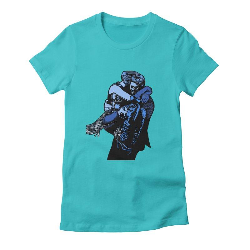 Personal Security Women's Fitted T-Shirt by Steve Dressler Illustration & Design