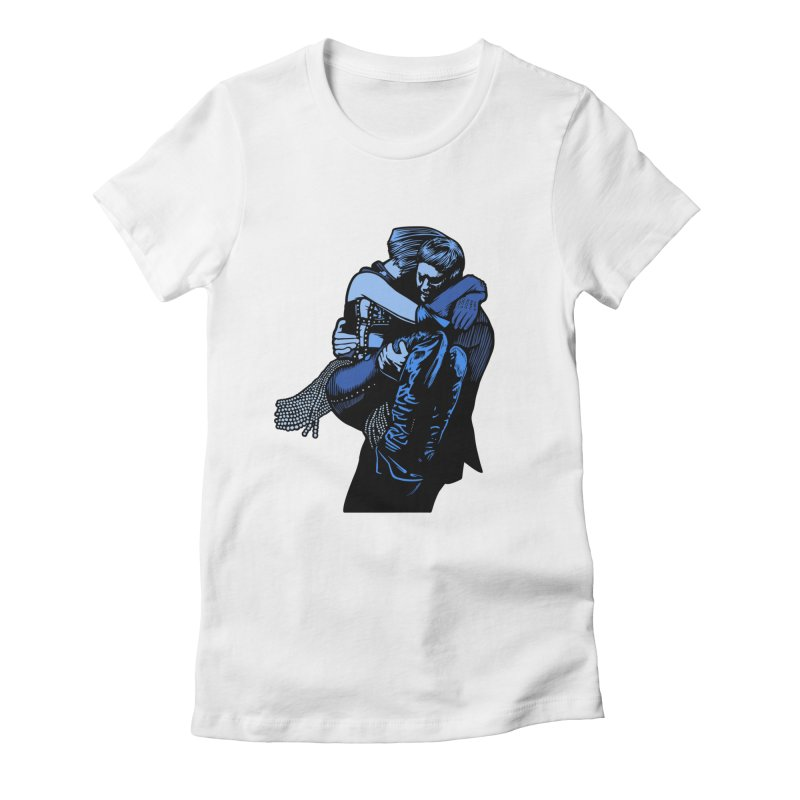 Personal Security Women's Fitted T-Shirt by Steve Dressler Illustration & Design
