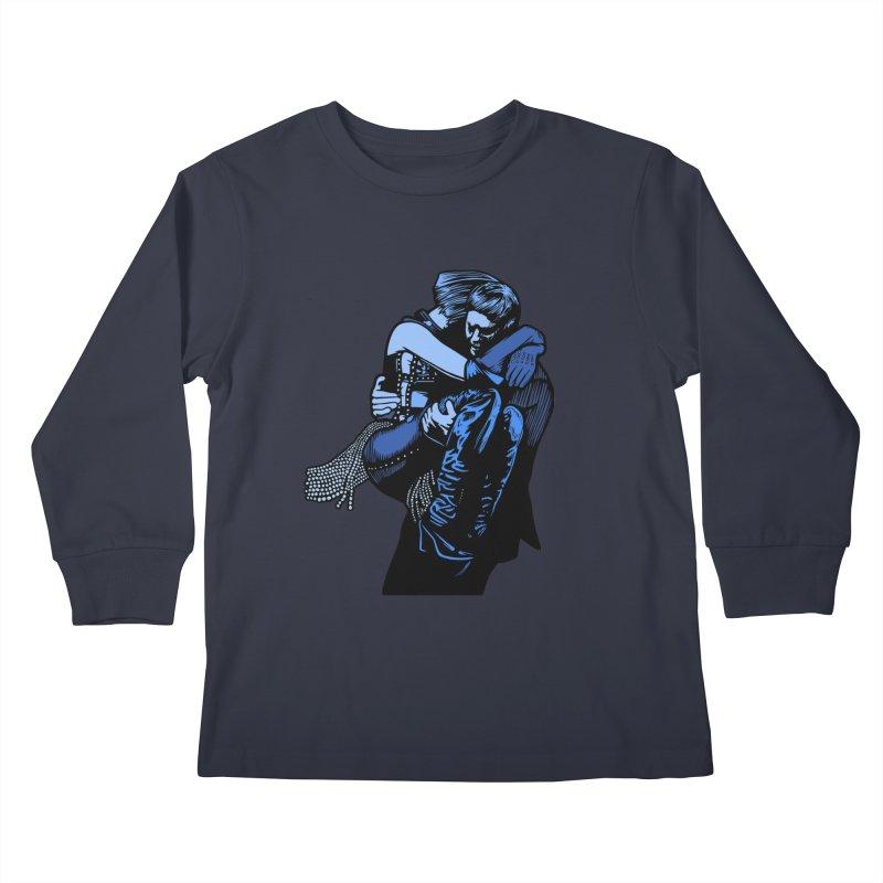 Personal Security Kids Longsleeve T-Shirt by Steve Dressler Illustration & Design