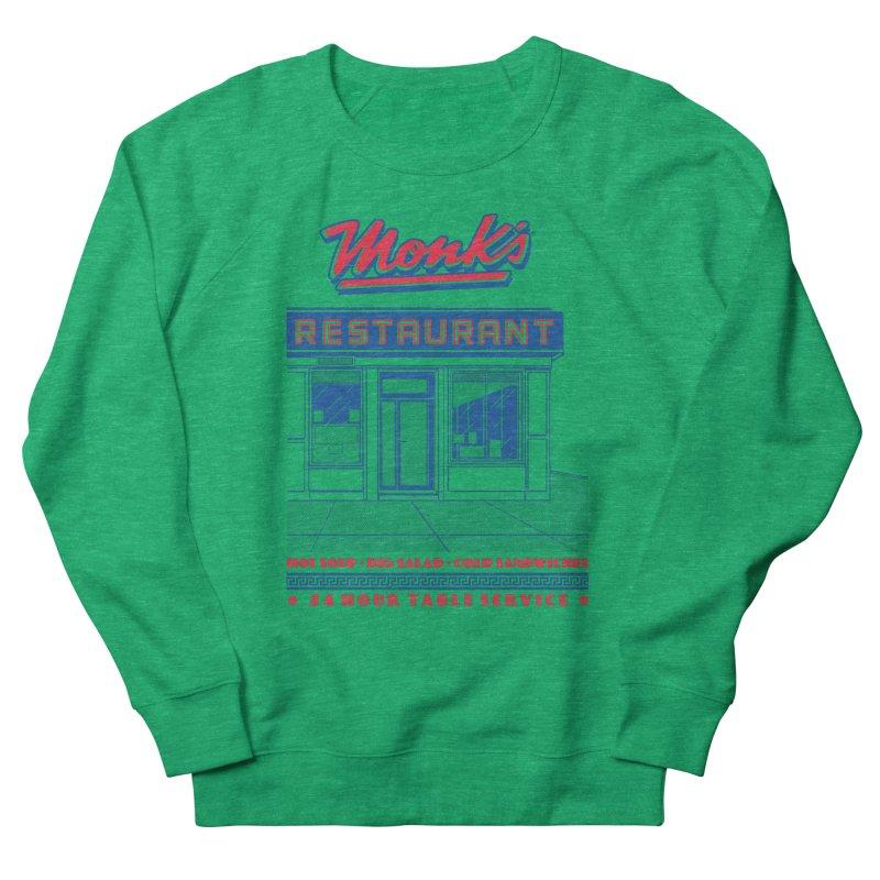Monk's Restaurant Women's Sweatshirt by Steve Dressler Illustration & Design