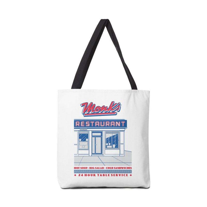 Monk's Restaurant Accessories Bag by Steve Dressler Illustration & Design
