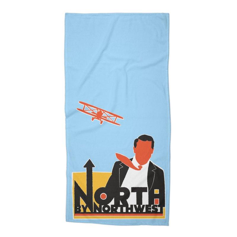 N / NW Accessories Beach Towel by Steve Dressler Illustration & Design