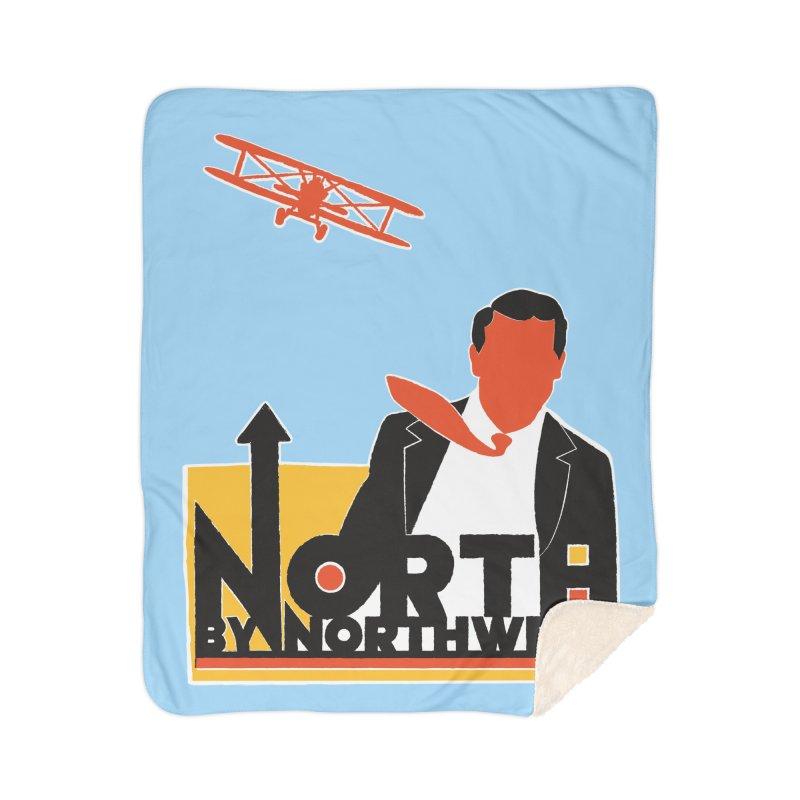 N / NW Home Blanket by Steve Dressler Illustration & Design