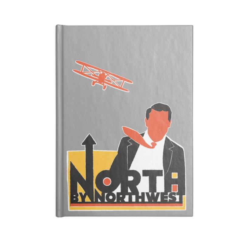N / NW Accessories Lined Journal Notebook by Steve Dressler Illustration & Design