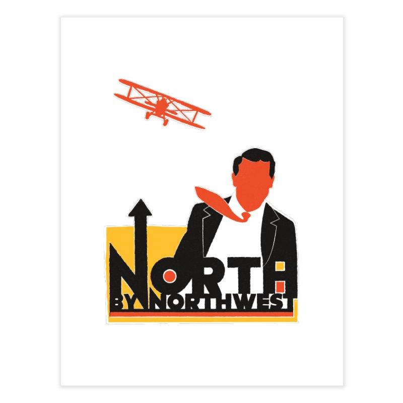 N / NW Home Fine Art Print by Steve Dressler Illustration & Design