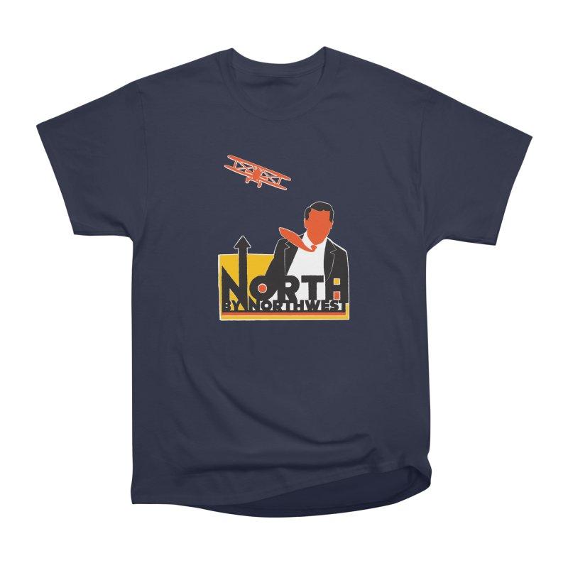 N / NW Men's Heavyweight T-Shirt by Steve Dressler Illustration & Design