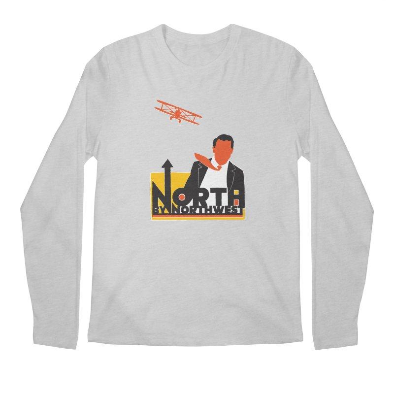 N / NW Men's Regular Longsleeve T-Shirt by Steve Dressler Illustration & Design
