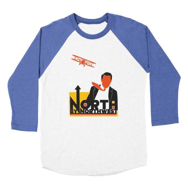 N / NW Men's Baseball Triblend Longsleeve T-Shirt by Steve Dressler Illustration & Design