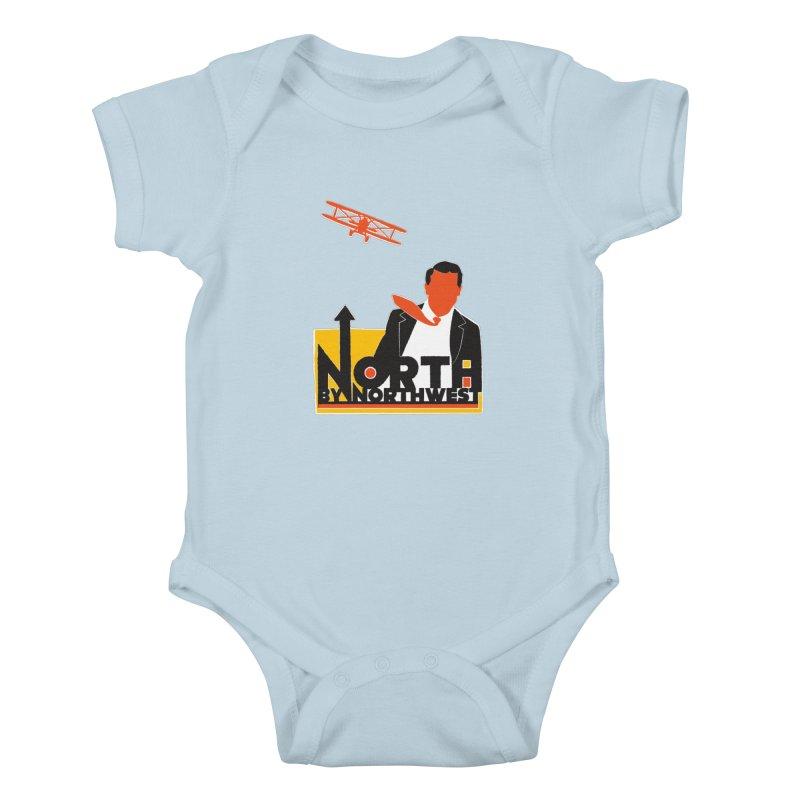 N / NW Kids Baby Bodysuit by Steve Dressler Illustration & Design