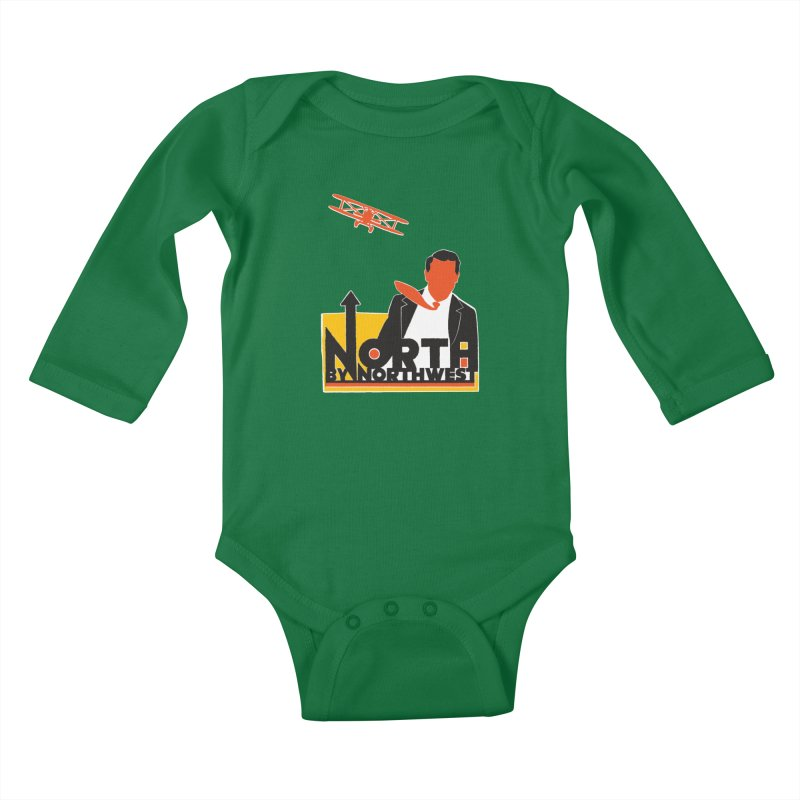 N / NW Kids Baby Longsleeve Bodysuit by Steve Dressler Illustration & Design
