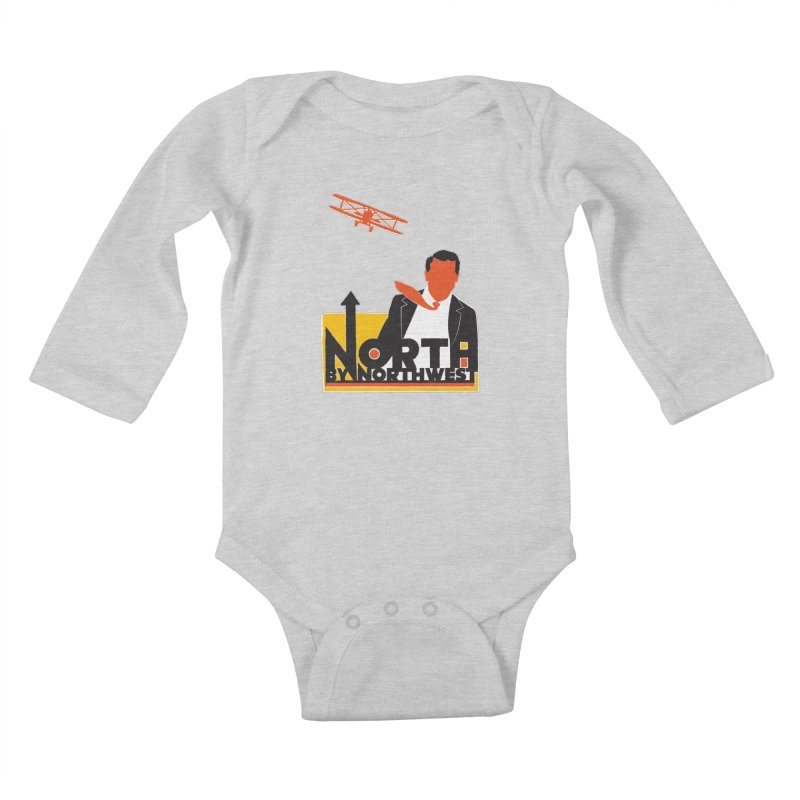 N / NW Kids Baby Longsleeve Bodysuit by Steve Dressler Illustration & Design
