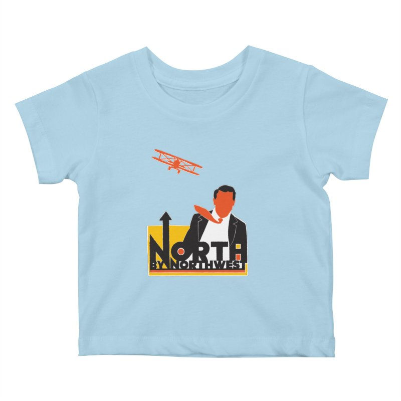 N / NW Kids Baby T-Shirt by Steve Dressler Illustration & Design