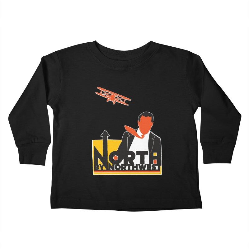 N / NW Kids Toddler Longsleeve T-Shirt by Steve Dressler Illustration & Design