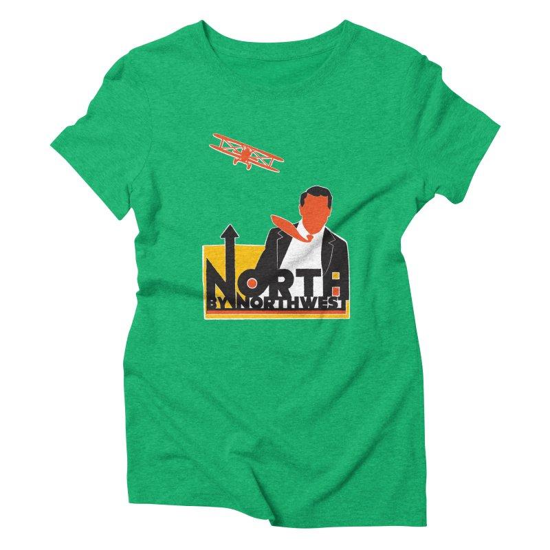 N / NW Women's Triblend T-Shirt by Steve Dressler Illustration & Design