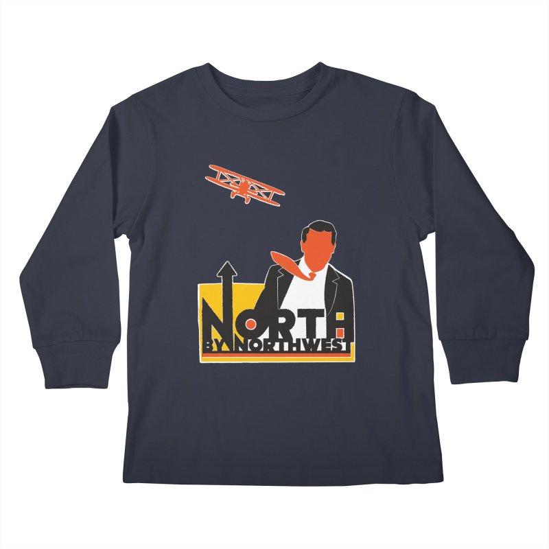N / NW Kids Longsleeve T-Shirt by Steve Dressler Illustration & Design