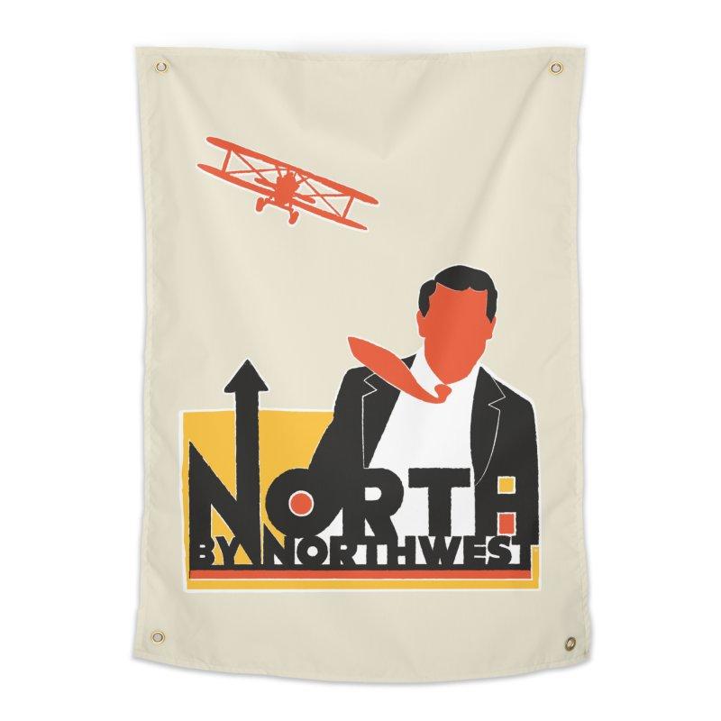 N / NW Home Tapestry by Steve Dressler Illustration & Design